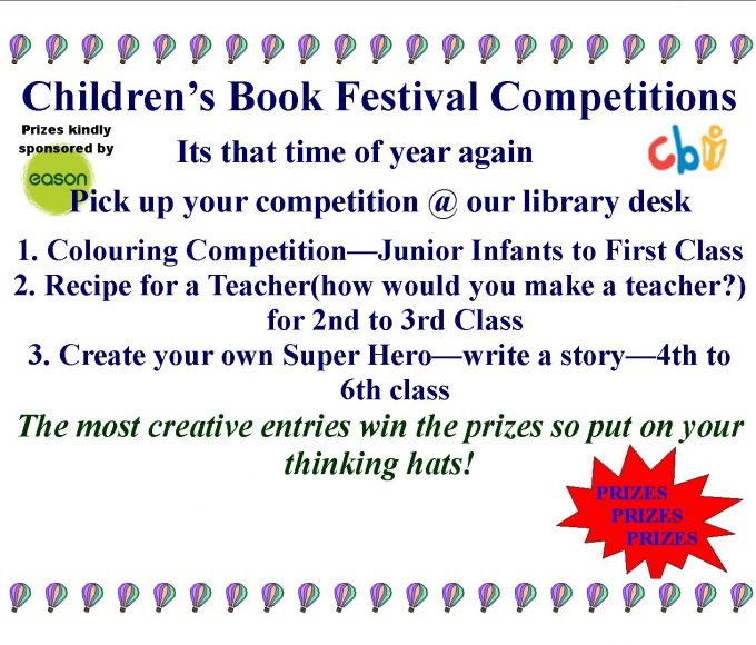 Thurles: Children's Book Festival Competitions