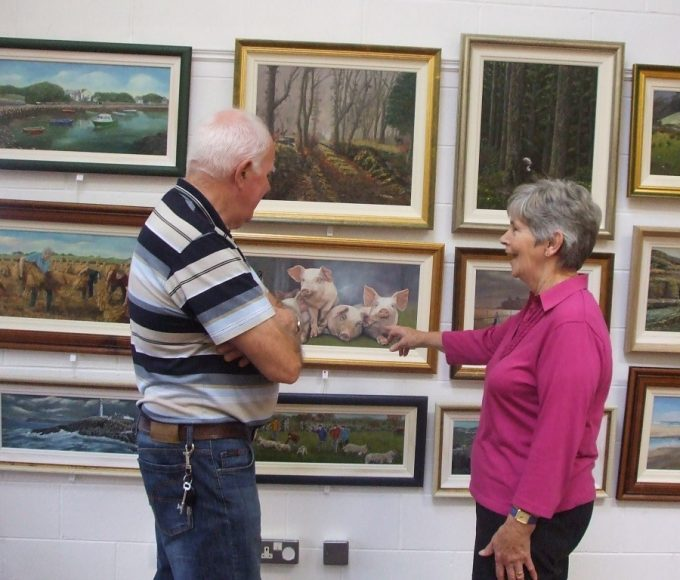 Exhibition In Nenagh Library By Margaret O'Gorman