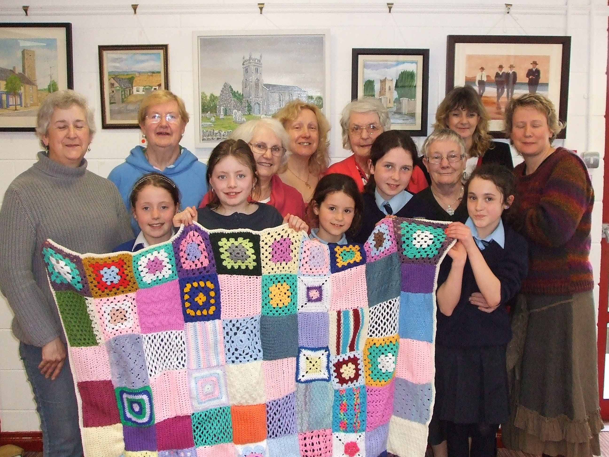 Group Of People Knitting : People from nenagh