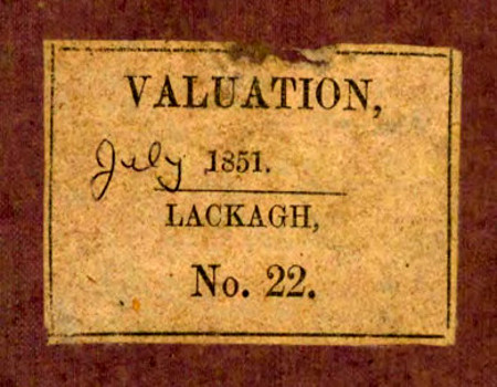 Tipperary Studies Digitization Project: Lackagh Rate Book