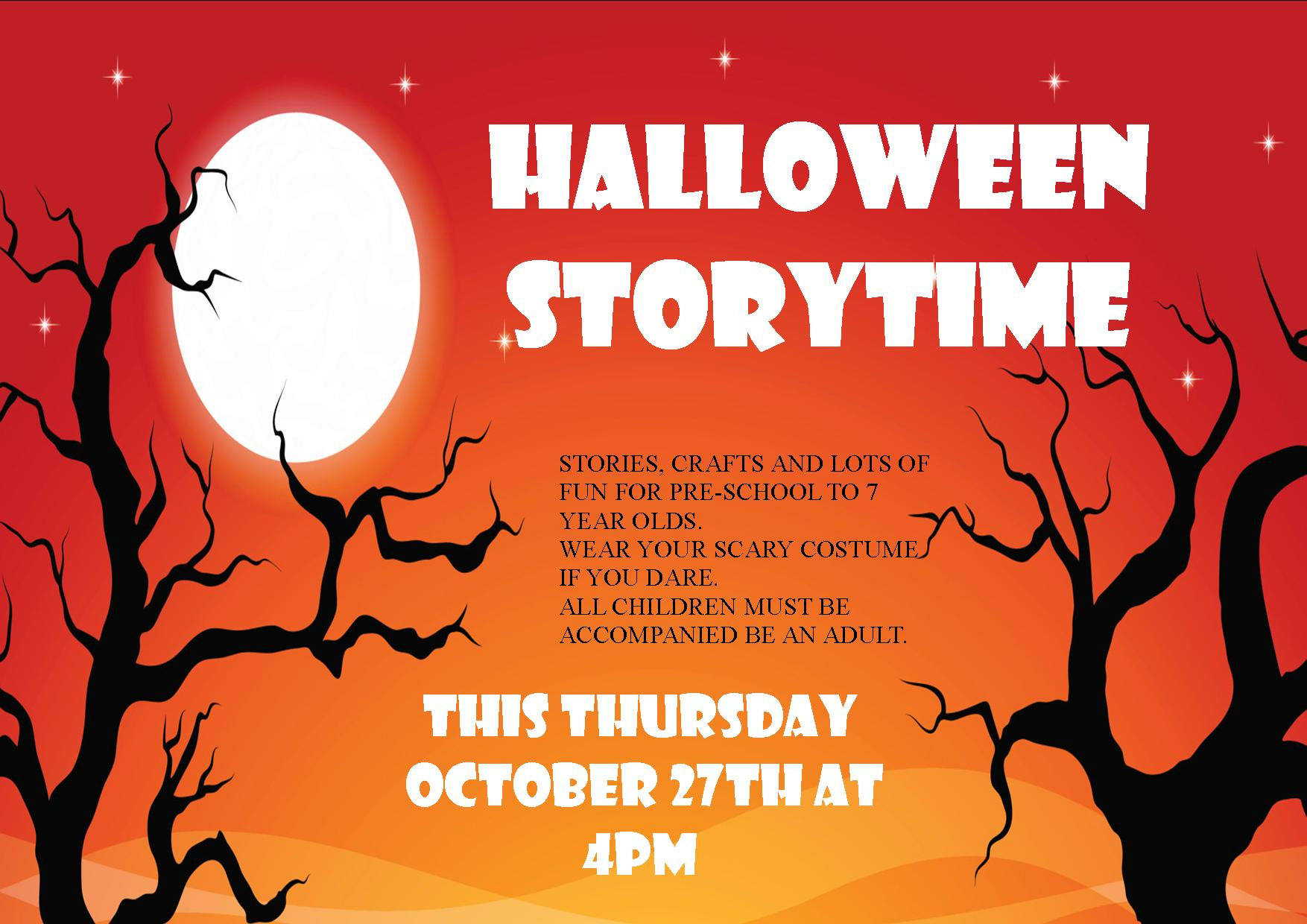 Halloween Storytime At Clonmel Library