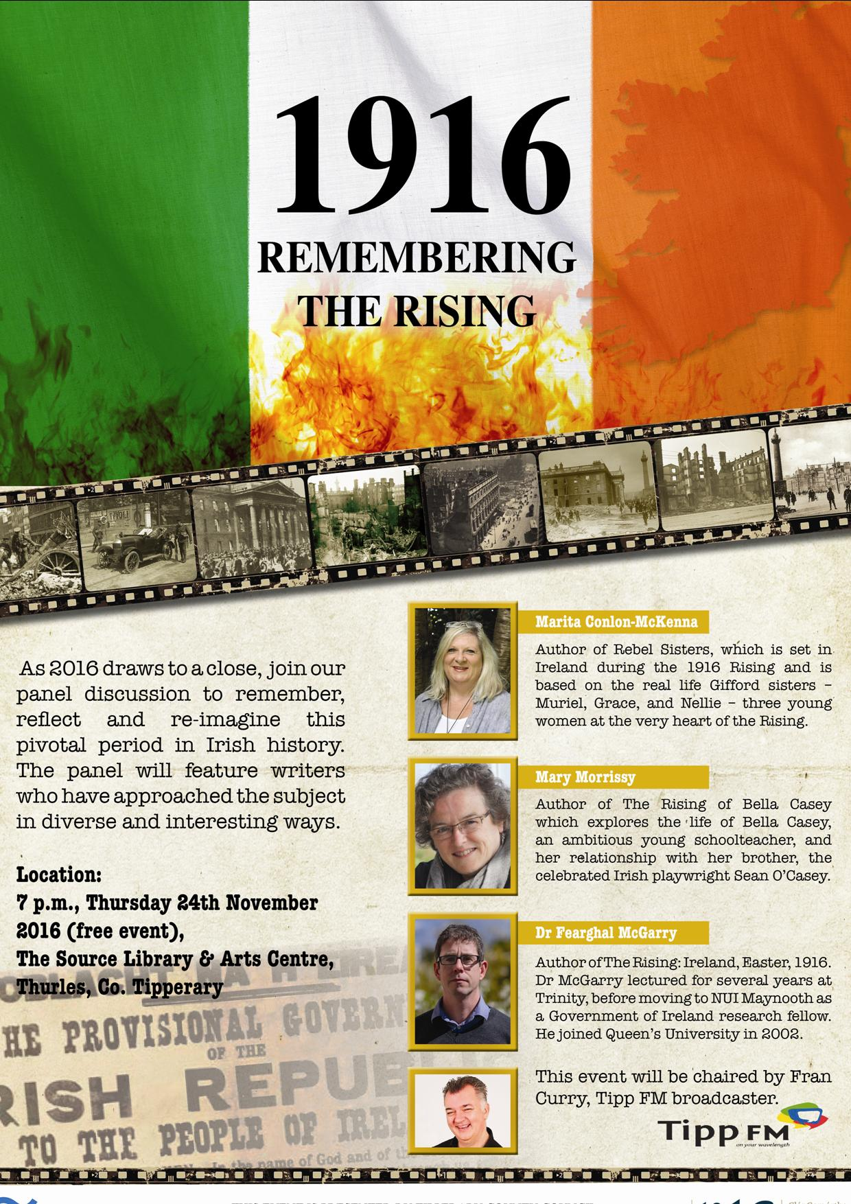 1916: Remembering The Rising, Thursday 24th November