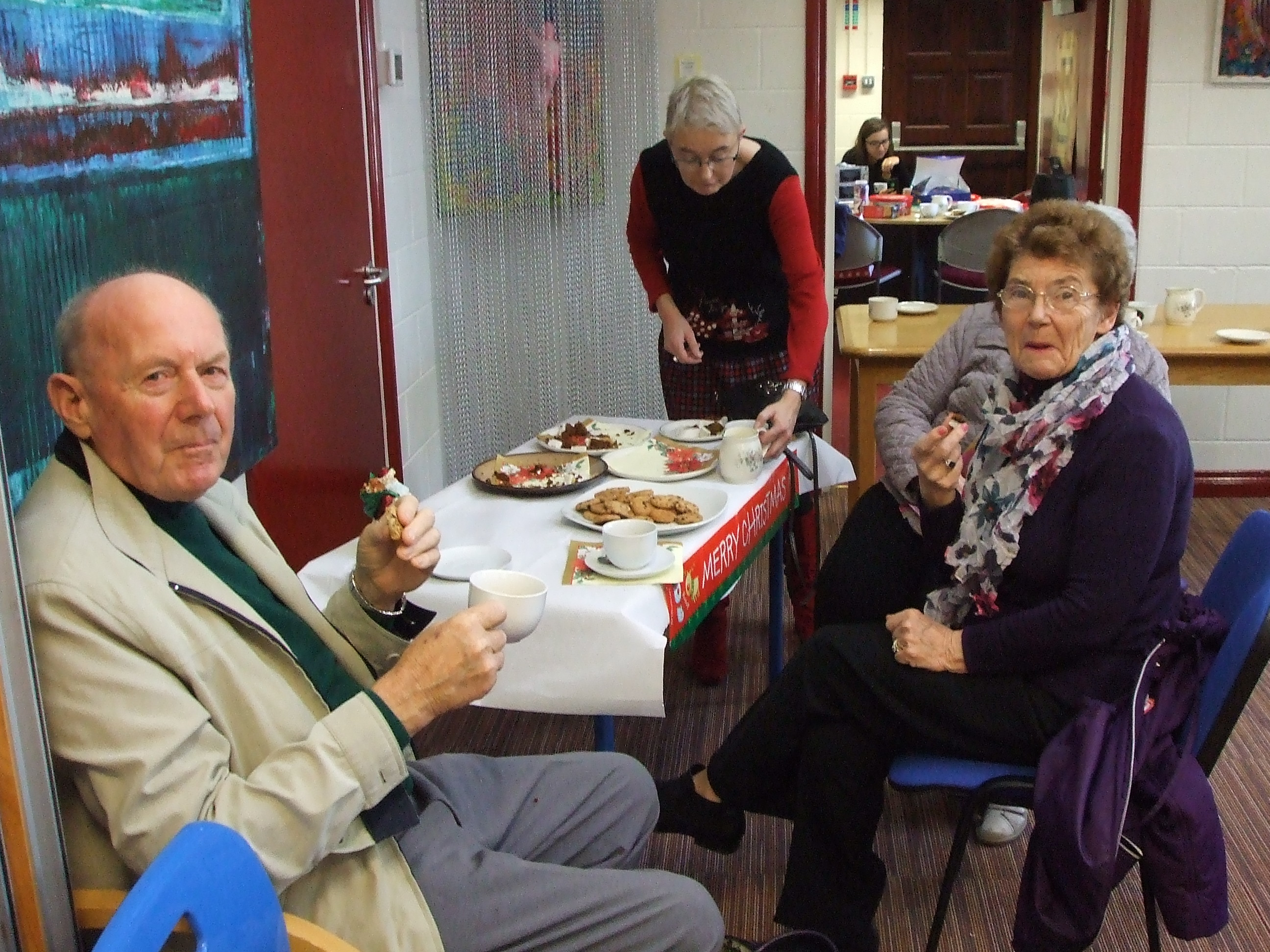 Christmas coffee morning in Nenagh library