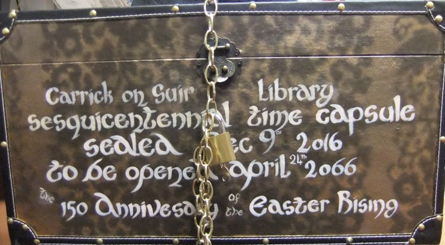 Carrick-on-Suir Library: Time Capsule 2016 – 2066