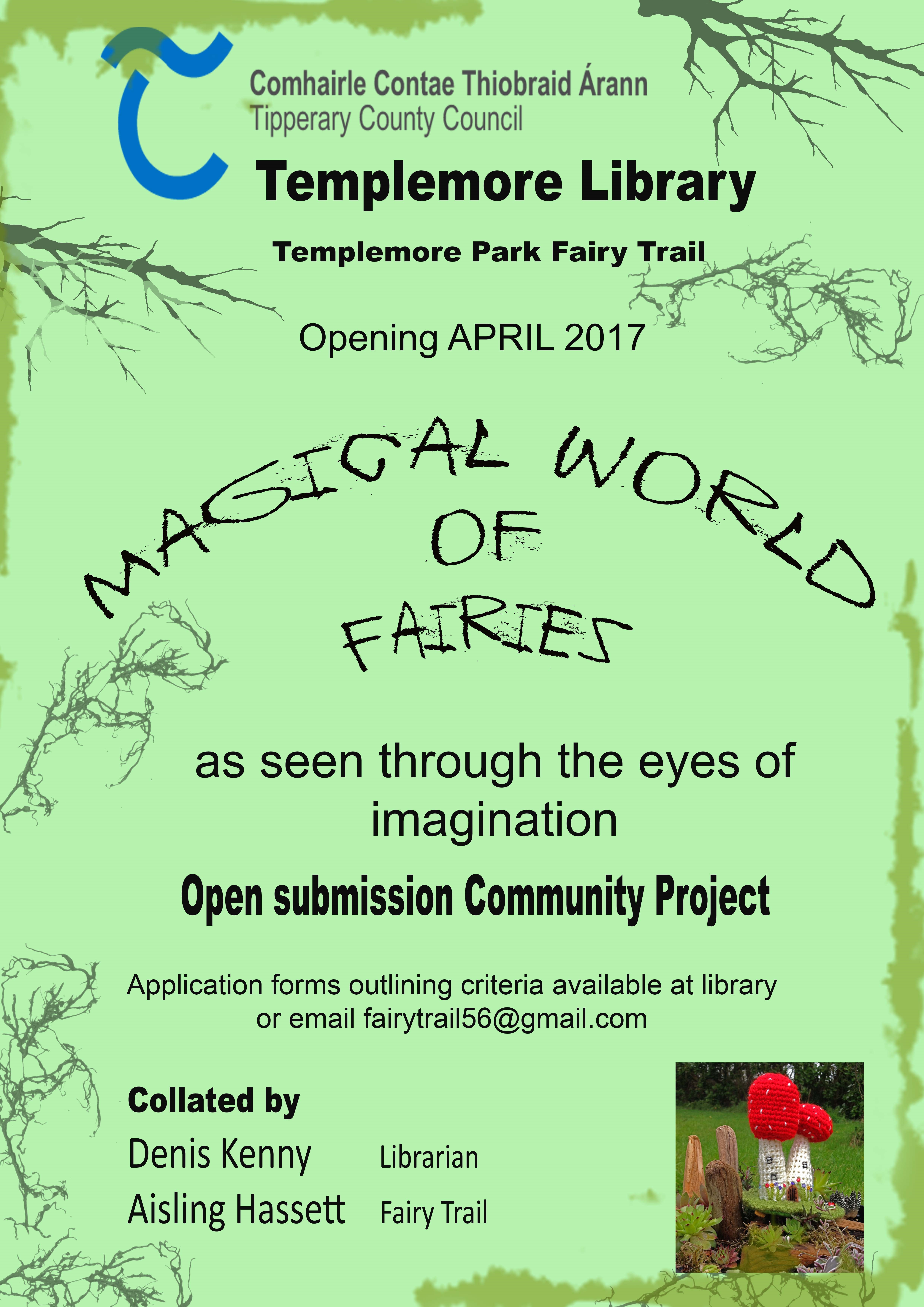 magical world of fairies u0027 community exhibition in templemore