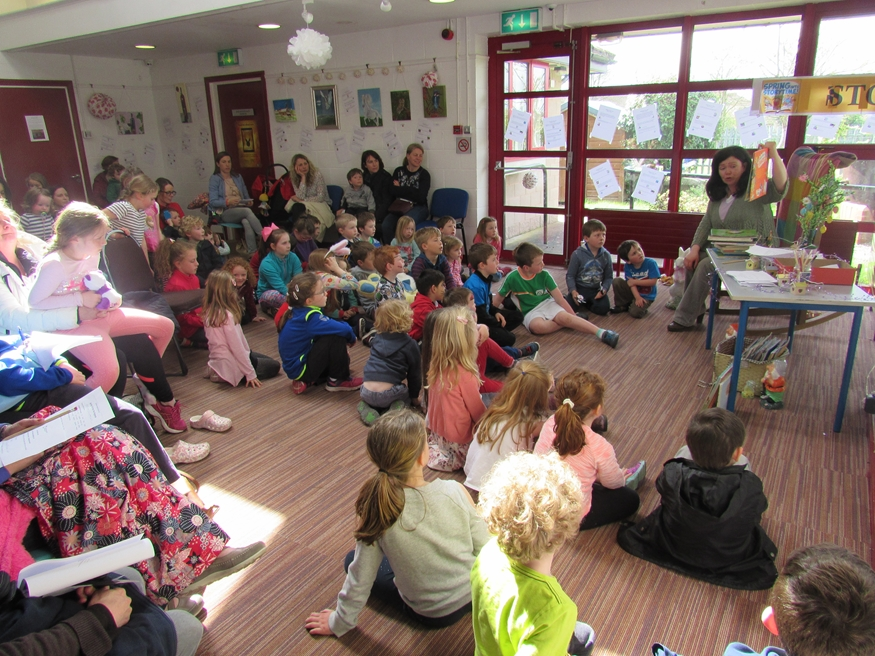 Nenagh Library Springs into Storytime….