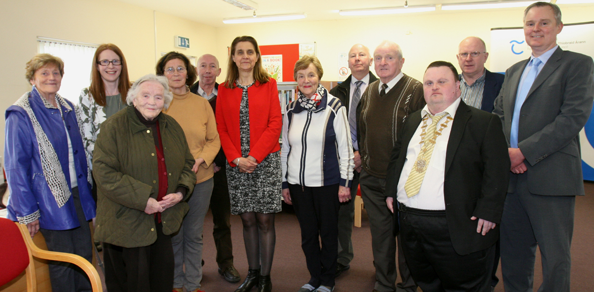 Borrisokane Library Welcomes Finnish Ambassador Janna Teckenburg