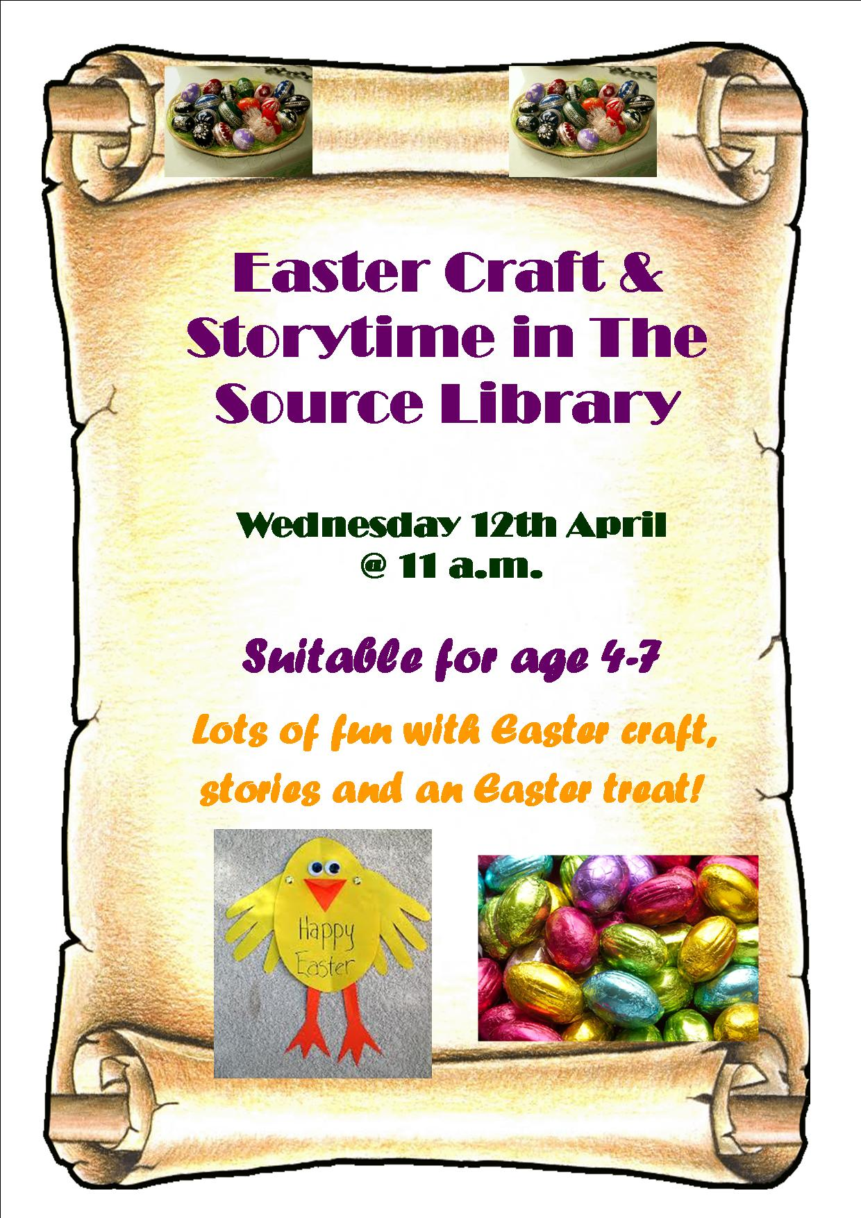 Thurles Library; Easter Storytime