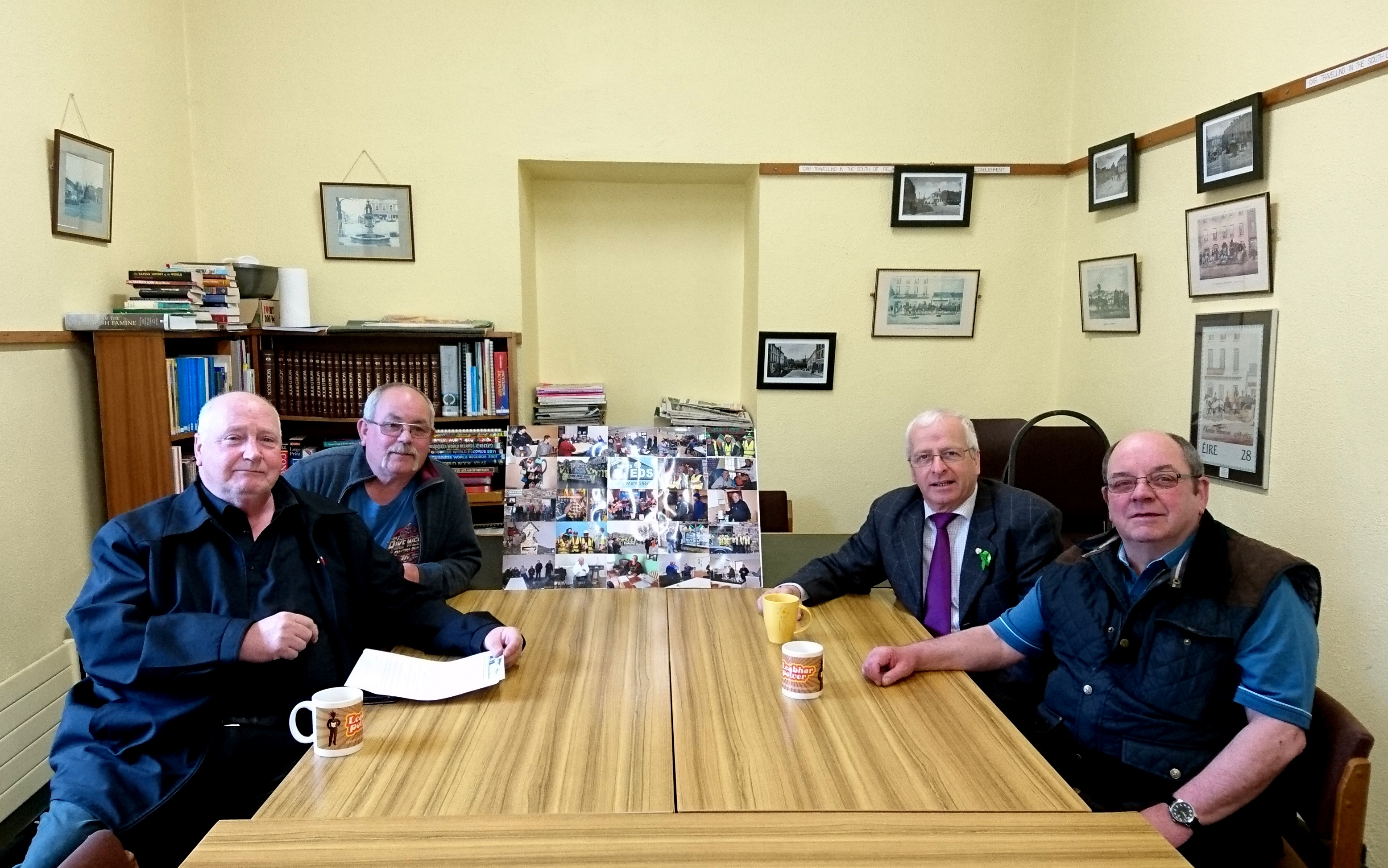 Cahir Men's Shed visit the library