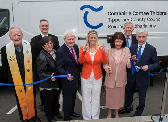 New Schools Mobile Library Launched By Cllr. Siobhan Ambrose, Cathaoirleach Tipperary County Council