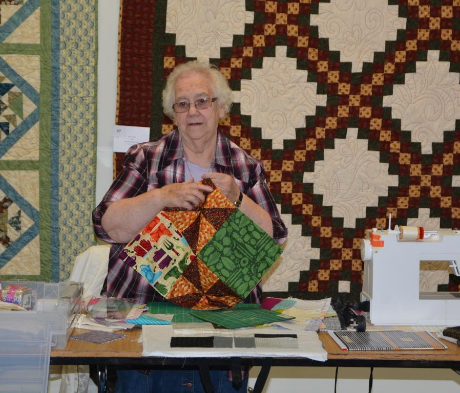 Thurles Library; Bealtaine Quilting Demonstration