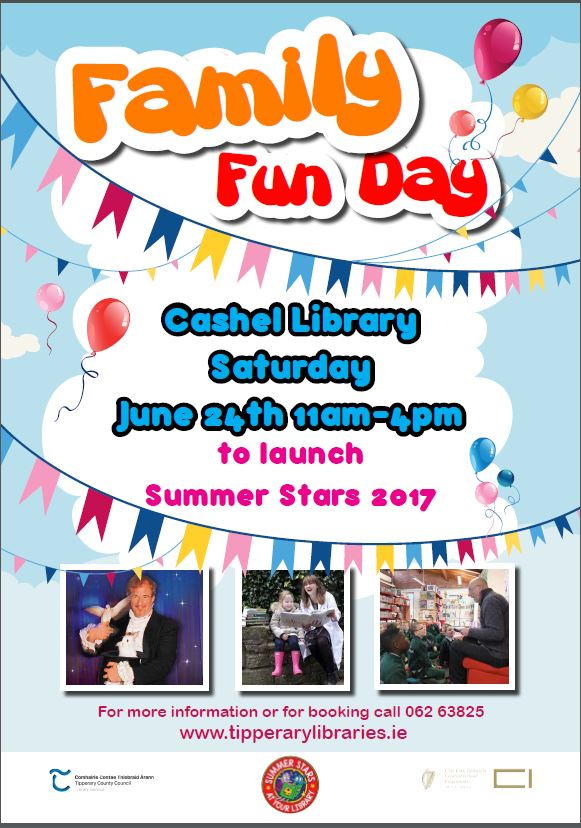 Family Fun Day in Cashel Library
