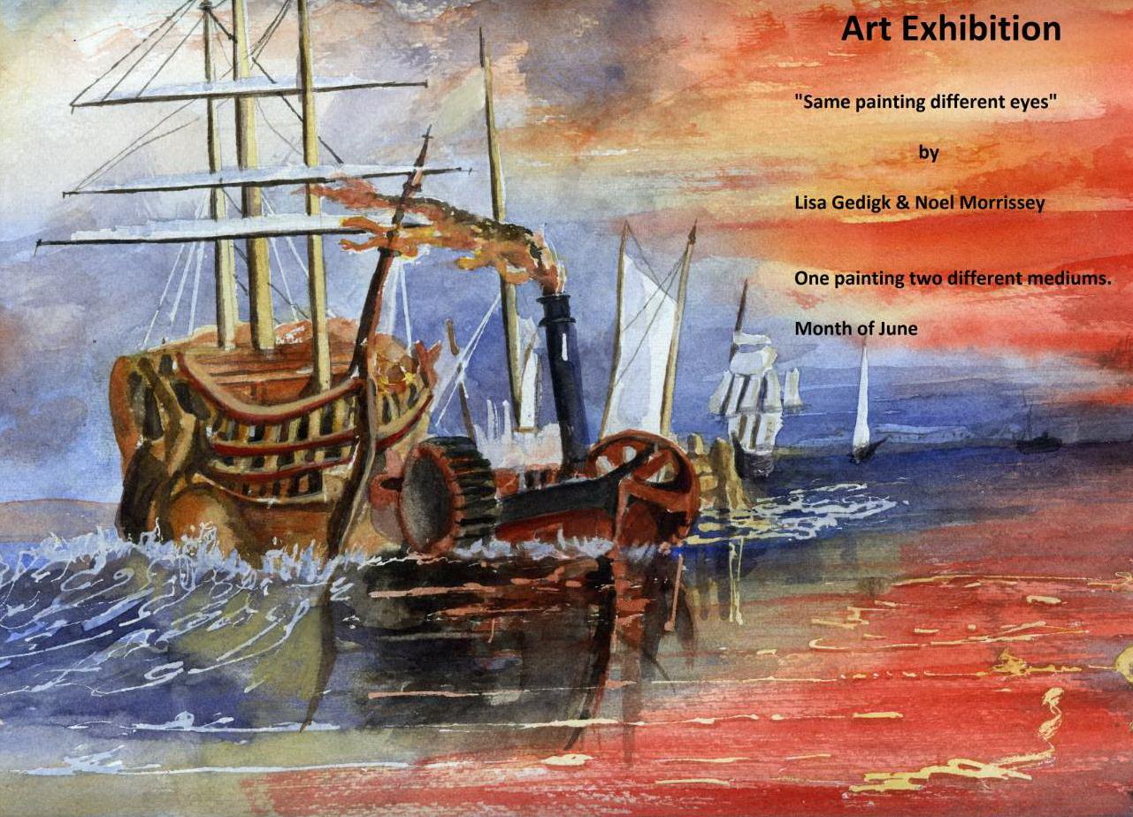 Templemore Library – Art Exhibition by Lisa Gedigk & Noel Morrissey