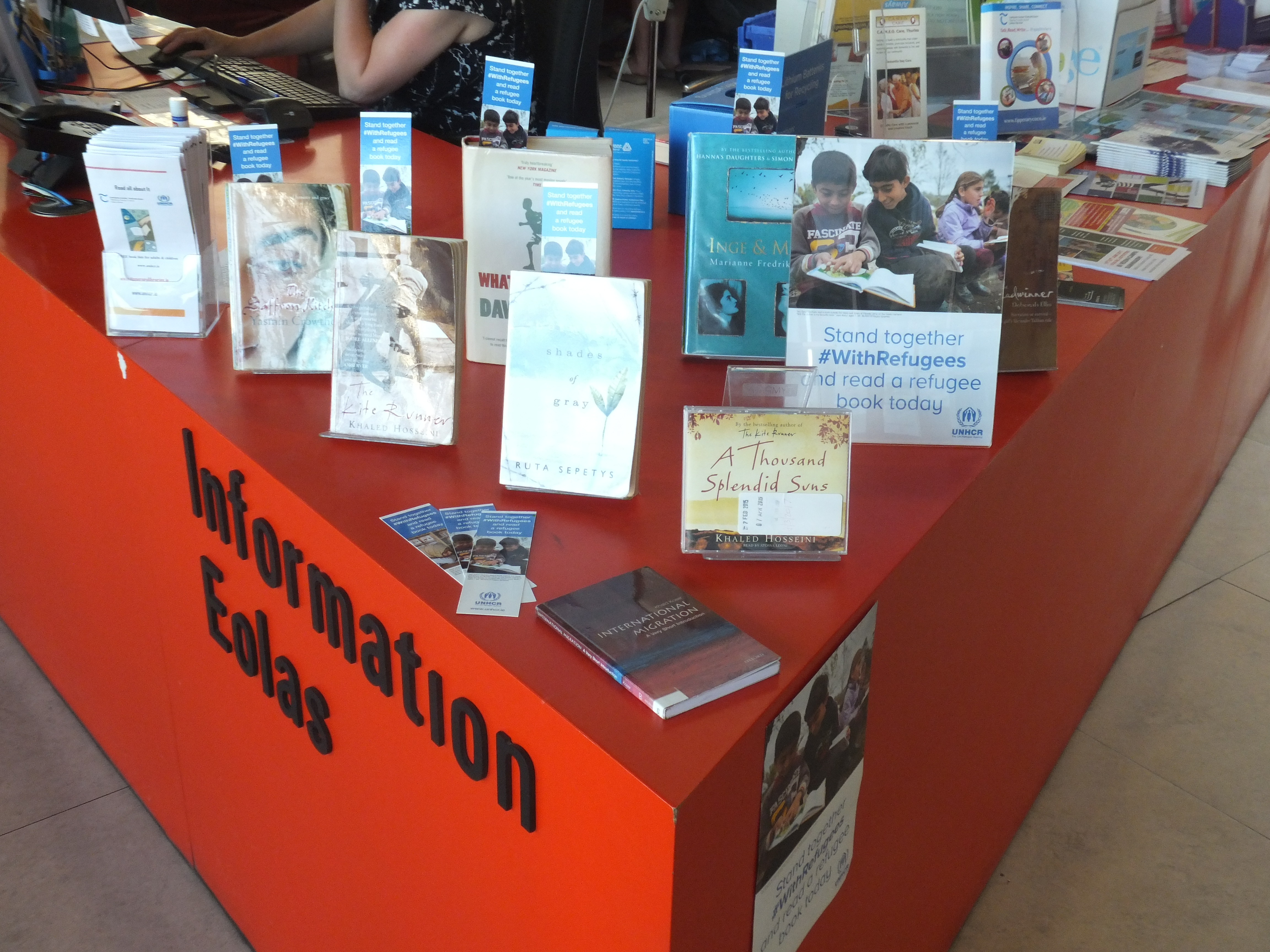 World Refugee Day- Book Display:Thurles Library