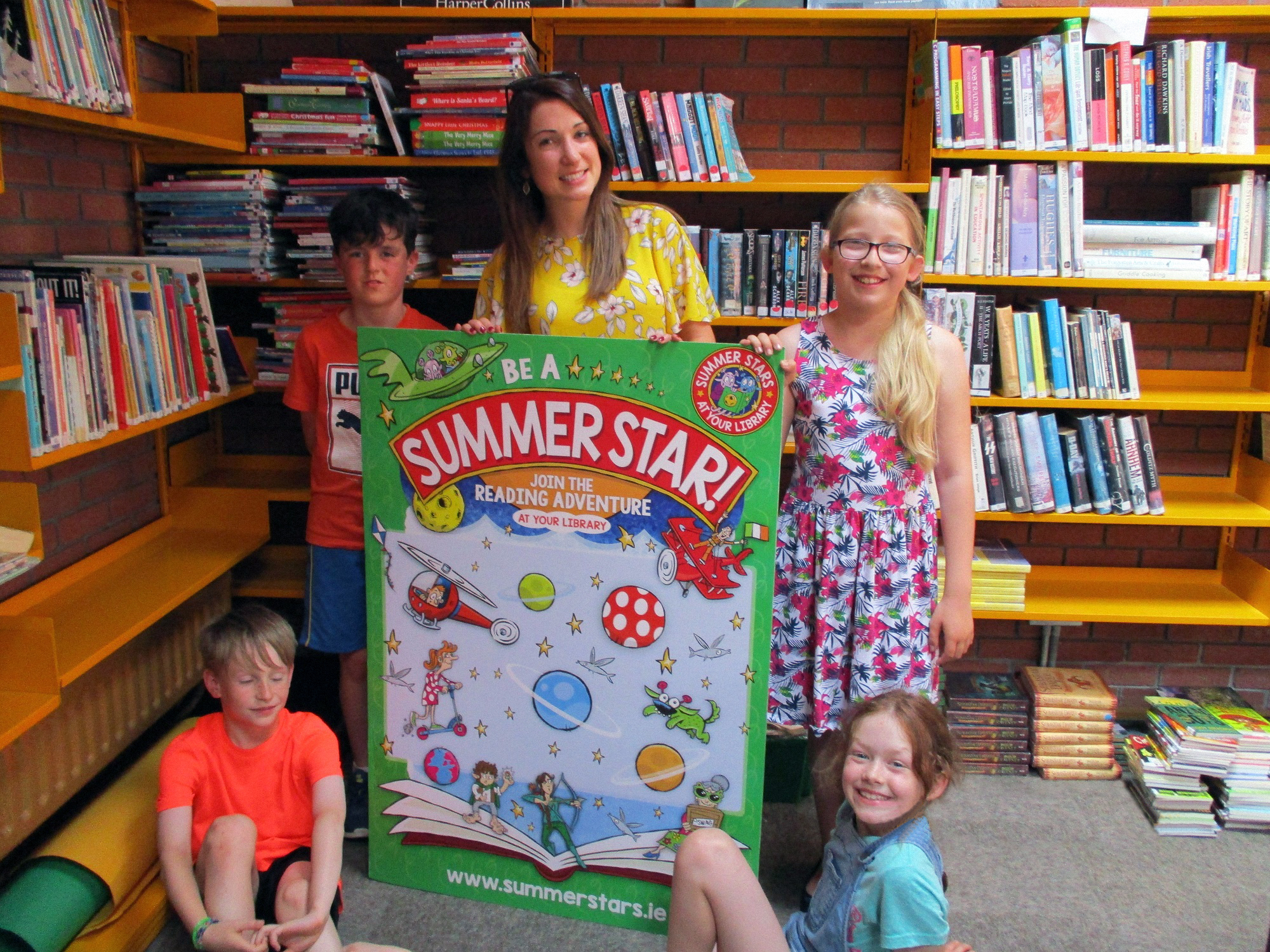 Clonmel Library: Summer Stars Reading Adventure Radio Interview