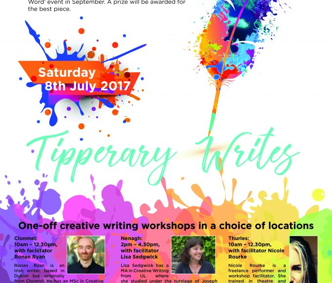 Tipperary Writes: Creative Writing Workshops