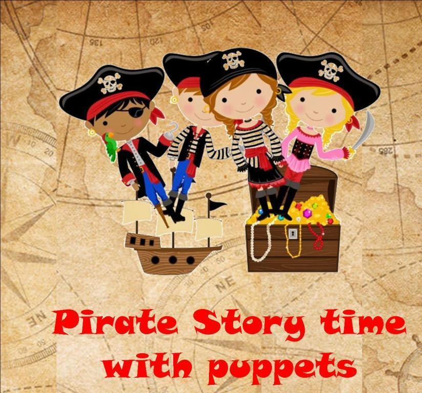 Thurles Library; Pirate storytime July 5th