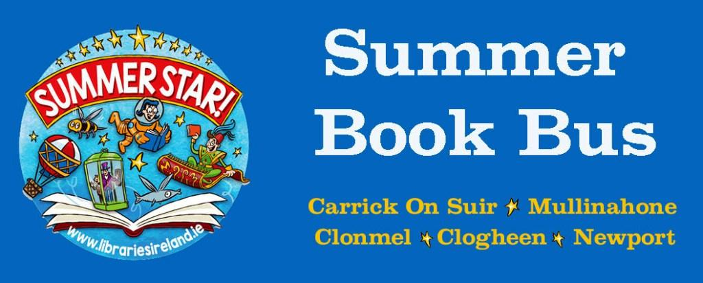 Summer Book Bus In Carrick On Suir This Morning And Clonmel This Afternoon