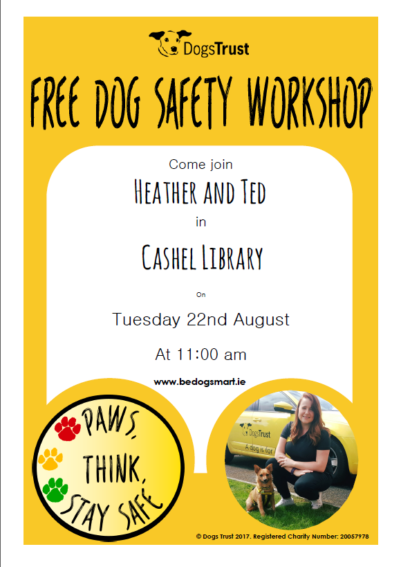 Dogs Trust Workshop in Cashel Library