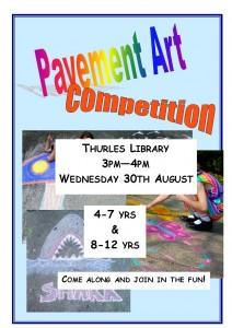 Pavement art competition