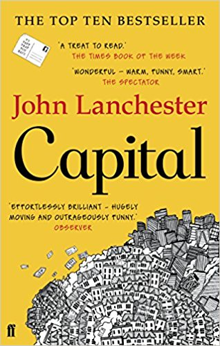 Capital by John Lanchester (Nenagh evening bookclub)
