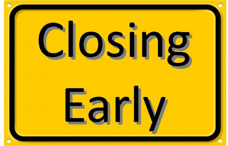 Thurles Library will be closing for lunch  1pm – 2pm and at 5.30pm,  today,  Tuesday 22nd August.