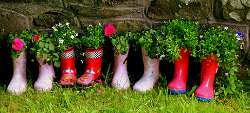 Carrick-on-Suir Library: Flowery Wellies Workshop