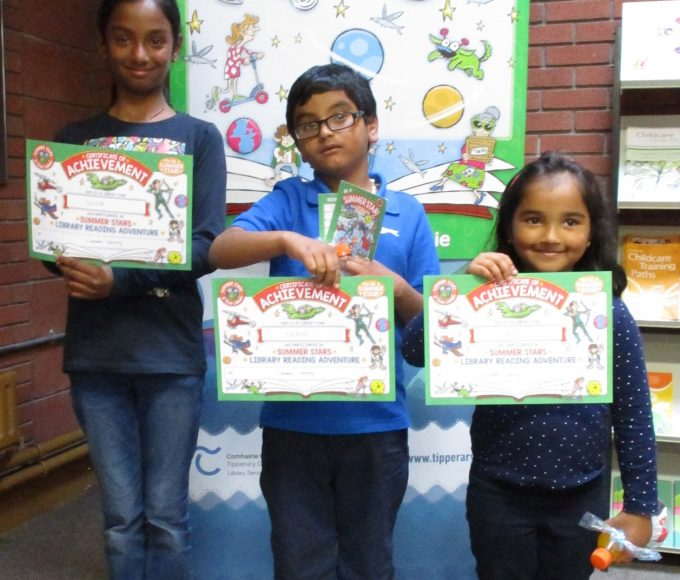 Clonmel Library: Summer Stars Certificate Presentation