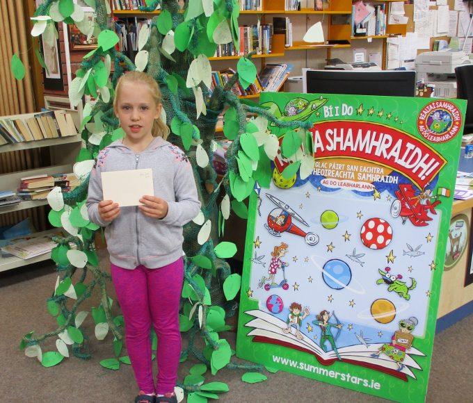 Clonmel Library: Summer Stars Spot Prize Winner