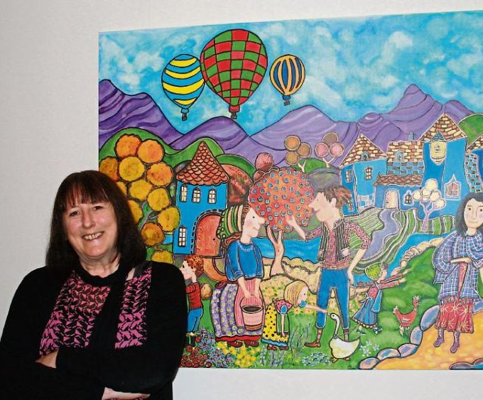 Manchán Magan Writes Brilliant Article About Marie O'Driscoll's Exhibition In Cashel Library