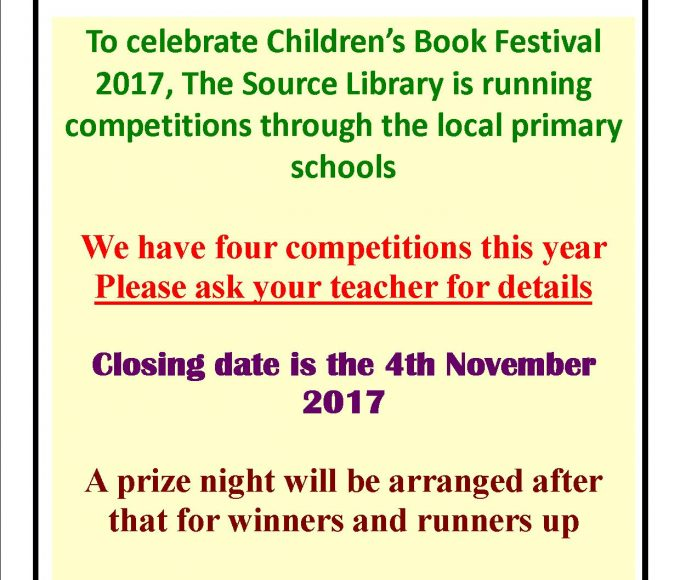 Thurles:  Children's Book Festival Competitions For Primary Schools