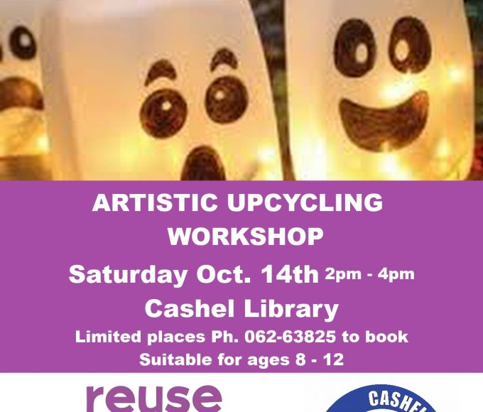 Art Recycling Workshop In Cashel Library