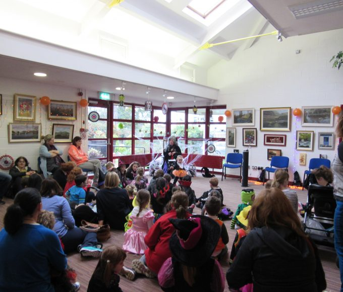 Nenagh Library's Halloween Party