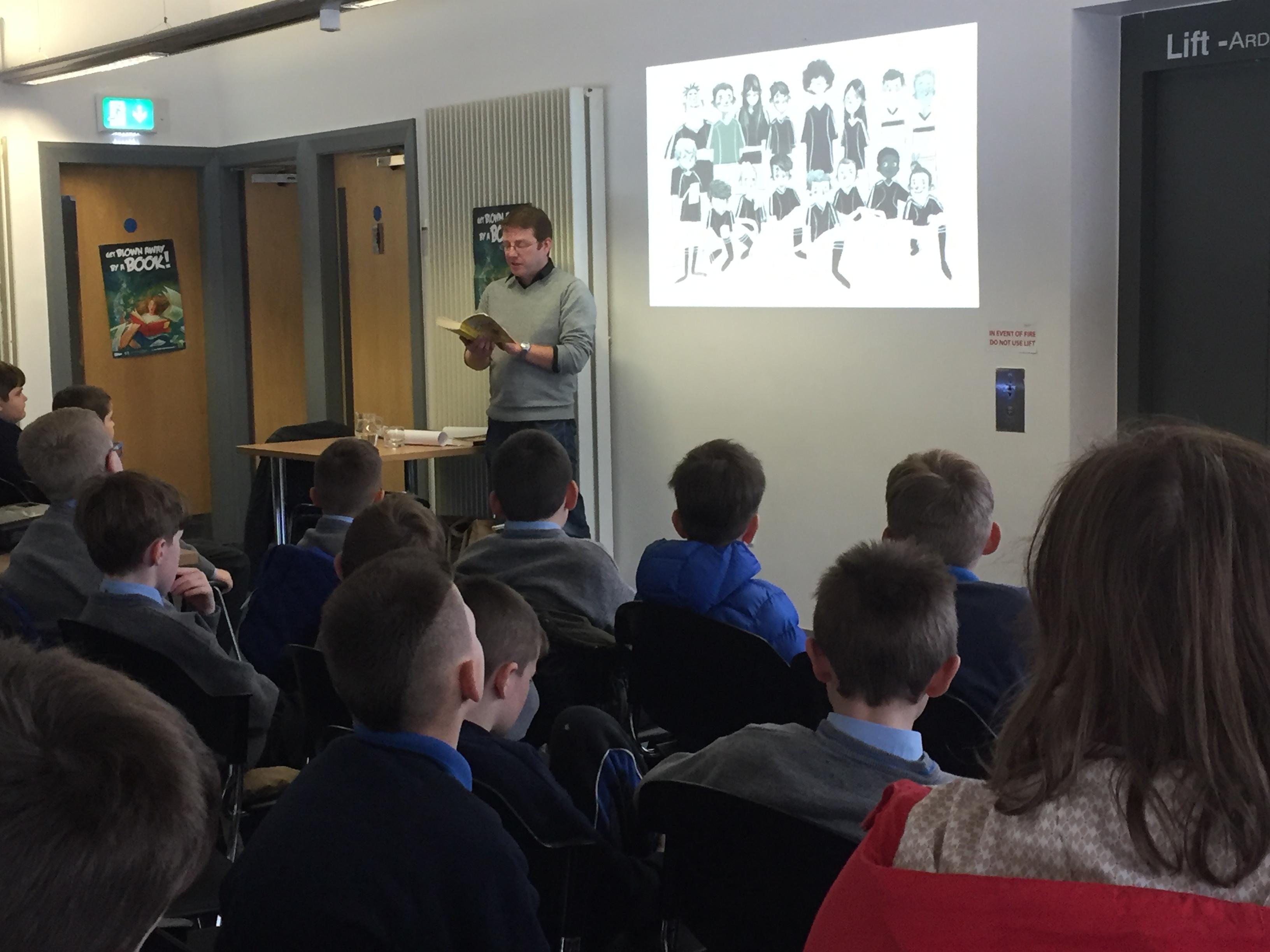 Kieran Crowley Visits Cashel Library