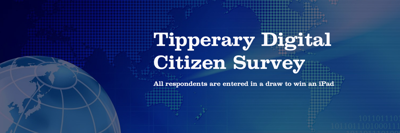 Tipperary Digital Citizen Survey- Calling All Internet Users (and Non Users!)