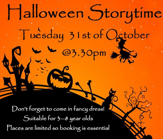 Halloween Fancy Dress Storytime In Cashel Library
