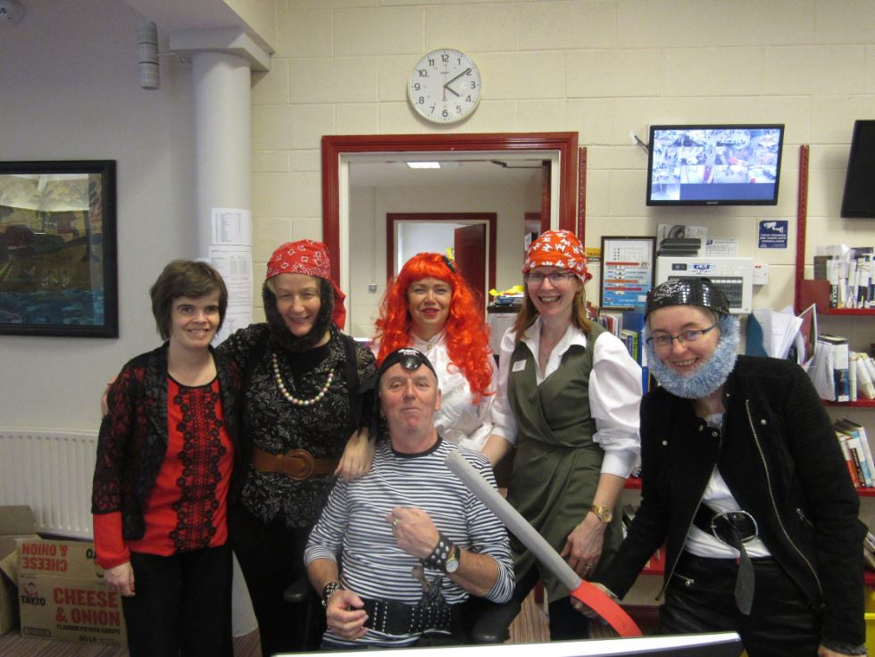 Nenagh Library Pirate Day!
