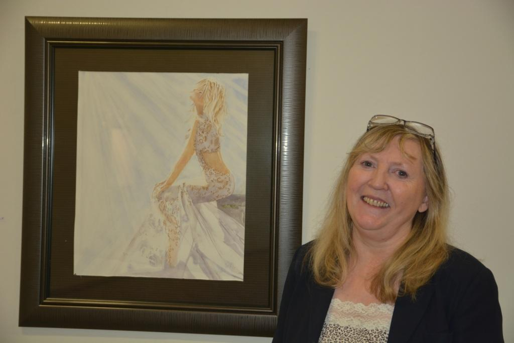 Thurles Library; Polly Hoctor Exhibiton Of Watercolours