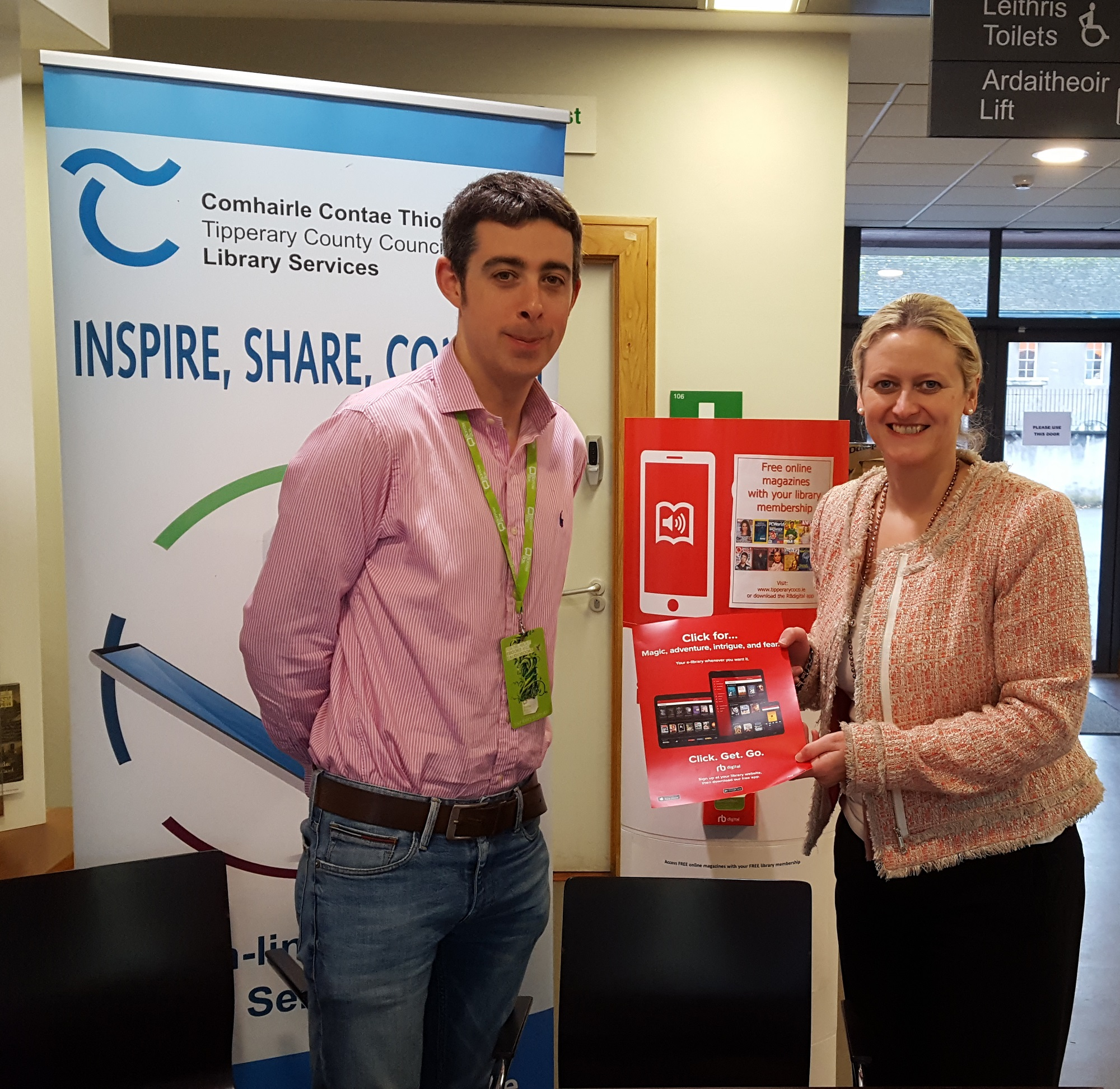 Clonmel Library: Online Services Week