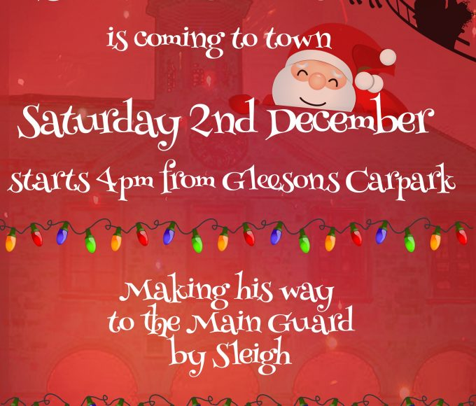 Santa Claus Is Coming To Clonmel