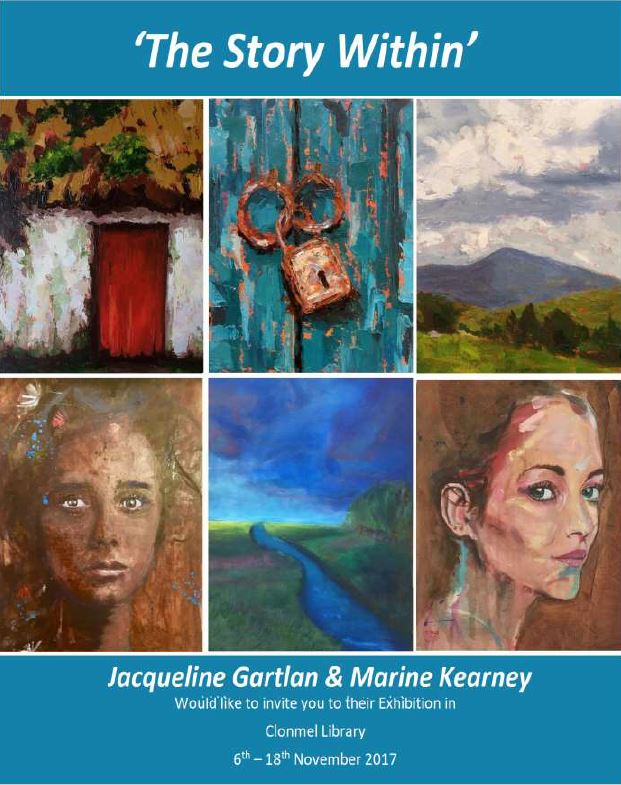 Clonmel Library: The Story Within – Art Exhibition