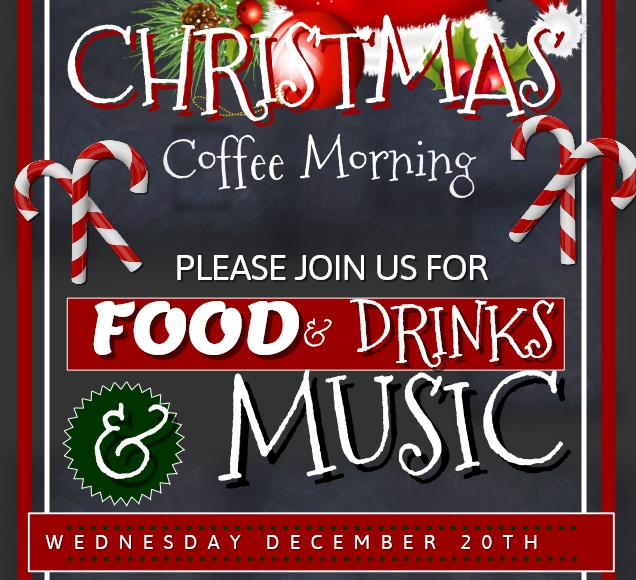 Christmas Coffee Morning In Cashel Library