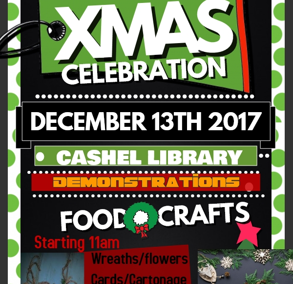 Christmas Craft Demonstrations In Cashel Library