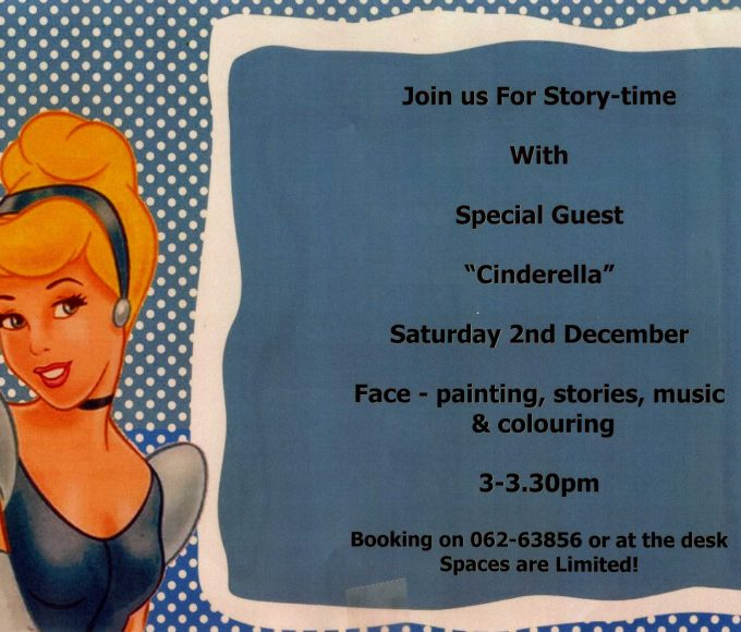 Cinderella Storytime In Cashel Library