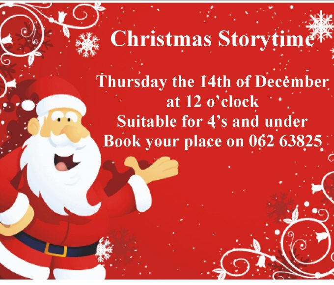 Christmas Storytime In Cashel Library