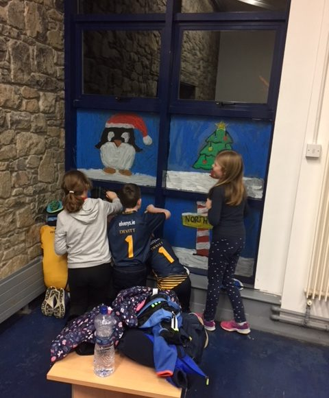 Christmas Windows In Cashel Library