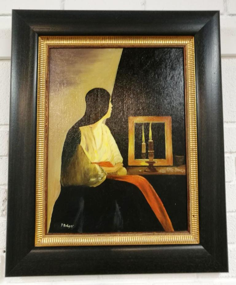 Roscrea Library Art Group Exhibition For December