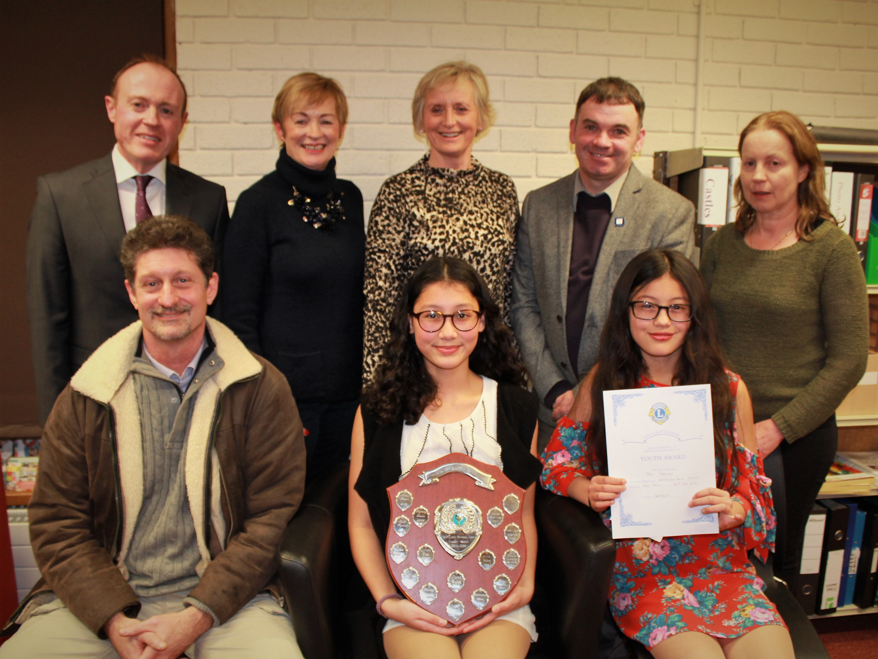 Carrick-on-Suir Library Host the Lions Club Awards
