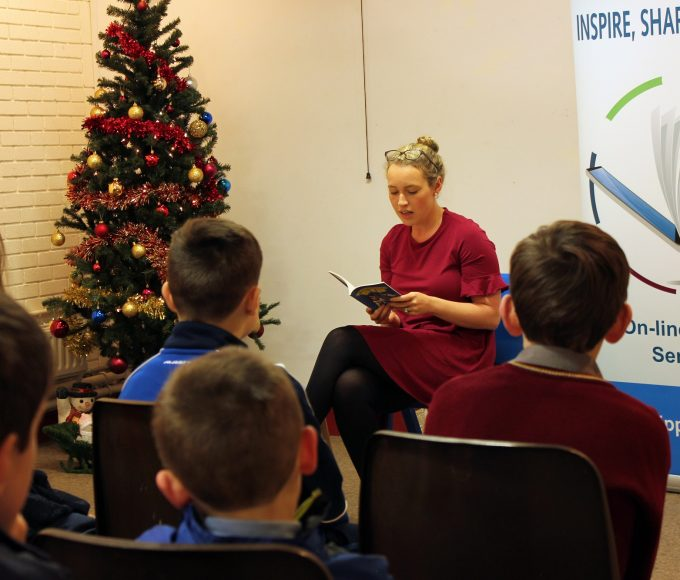 Carey-Ann Lordan Comes To Clonmel Library