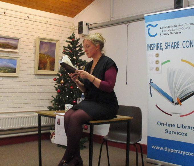 Limerick Author Rose Servitova Enthrals Her Clonmel Readers